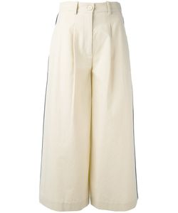 Erika Cavallini | Cropped Pants 40 Cotton/Virgin Wool