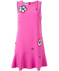 Moschino | Appliqué Dress 40