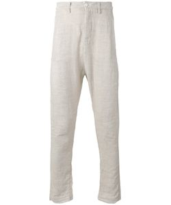 Poème Bohèmien | Poème Bohémien Slim-Fit Trousers 46 Linen/Flax/Cotton