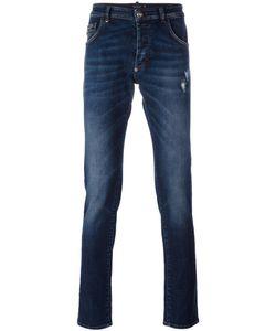Philipp Plein | Straight-Leg Jeans 31 Cotton/Spandex/Elastane/Polyester