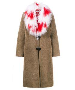 Saks Potts | Пальто С Тибетским Воротником Из Овечьей Шерсти Febbe Cross