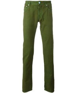 Jacob Cohёn | Jacob Cohen Slim-Fit Jeans 34 Cotton/Linen/Flax/Spandex/Elastane