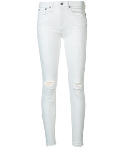 R13   Distressed Skinny Jeans Size 28