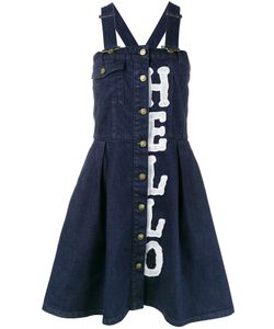 House Of Holland | Denim Dungaree Dress