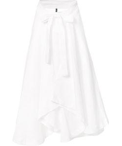 Lisa Marie Fernandez | Bow Detail Pleated Skirt Linen/Flax
