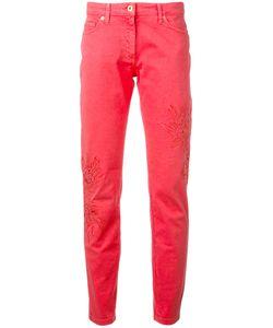 Blumarine | Slim Fit Trousers Size 42