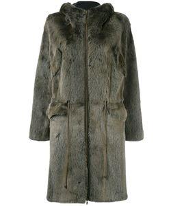 Liska | Hooded Drawstring Coat