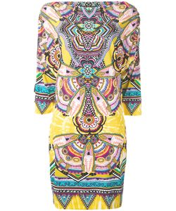 Roberto Cavalli | Abstract Print Shift Dress