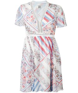 Tommy Hilfiger | Patchwork Print Flared Dress Size 8