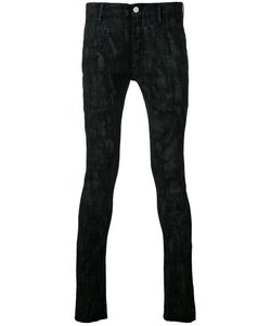 Fagassent | Coating Print Skinny Jeans