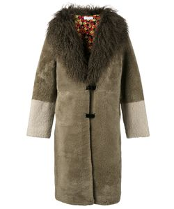 Saks Potts | Shearling Colla Coat 2 Sheep Skin/Shearling/Polyester