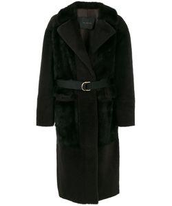 Blancha | Удлиненное Пальто Под Пояс