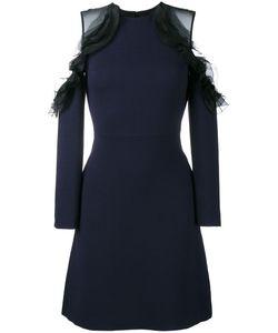 Huishan Zhang | Off Shoulder Ruffle Dress