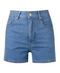 Amapô | High Waist Denim Shorts