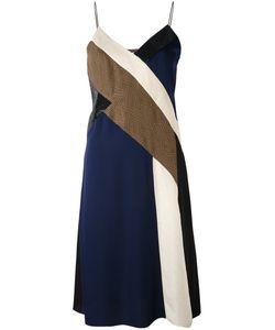 Diane Von Furstenberg | Платье Дизайна Колор-Блок