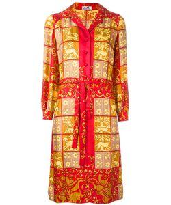 Hermès Vintage | Платье-Рубашка С Барочным Узором