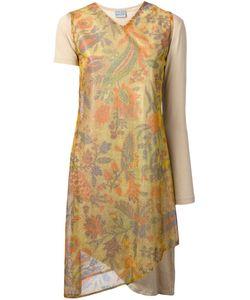 WALTER VAN BEIRENDONCK VINTAGE | Платье С Люрексом И Цветочным Принтом