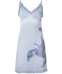 WALTER VAN BEIRENDONCK VINTAGE | Джинсовое Платье С Вышивкой Скорпиона