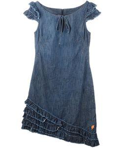 WALTER VAN BEIRENDONCK VINTAGE | Джинсовое Платье С Рюшами