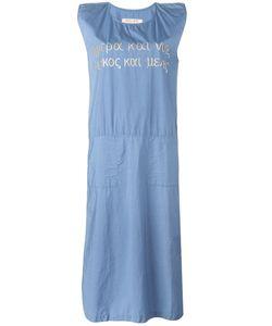 Jc De Castelbajac Ko & Co Vintage | Джинсовое Платье С Вышивкой