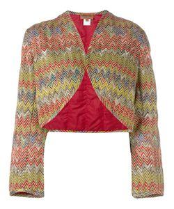 MISSONI VINTAGE | Padded Bolero Jacket