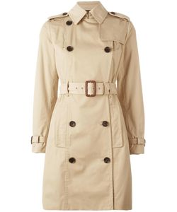 Michael Michael Kors | Double Breasted Belted Trench Coat Xs