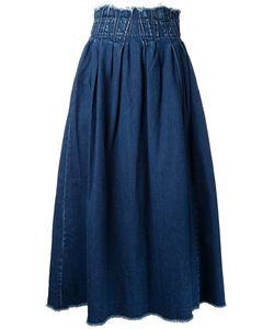 Maison Mihara Yasuhiro | Elasticated Waist Denim Skirt 36