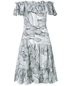Isolda | Off The Shoulder Flared Dress