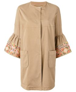 BAZAR DELUXE | Cropped Sleeves Coat Size