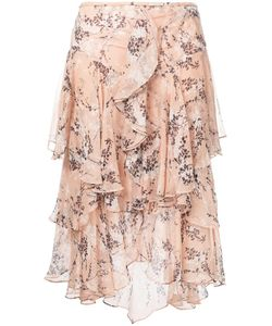 Jason Wu | Draped Ruffle Skirt 6 Silk
