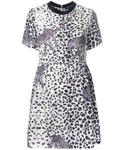 Markus Lupfer | Leopard Print Dress Medium Silk