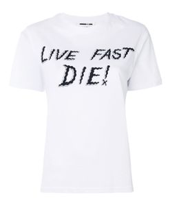 Mcq Alexander Mcqueen | Футболка Live Fast Die