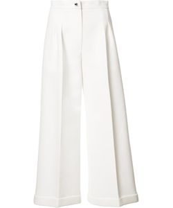 Fendi | High-Waistedd Palazzo Pants 42 Cotton