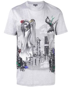Lanvin | Graphic Print T-Shirt Size 46
