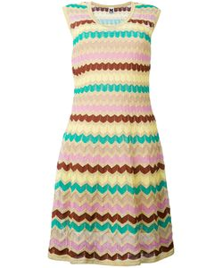 Missoni | M Zig-Zag Knitted Dress Cotton/Polyamide/Polyester