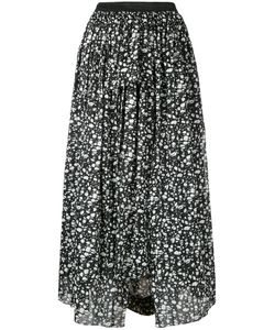Theatre Products   Abstract Print Midi Skirt Cotton