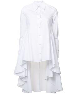 Co   Button-Up High-Low Shirt