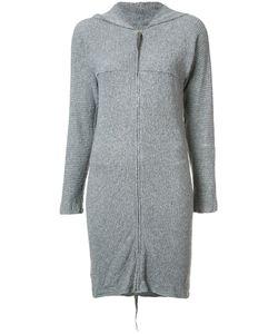 MA+ | Hooded Zipped Cardigan Medium Cotton/Cashmere/Polyamide-8