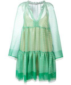 Stella Mccartney | Circle Star Mini Dress 44 Silk/Polyester