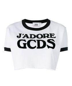Gcds | Logo Cropped T-Shirt Size Medium