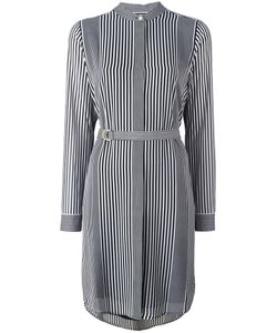 Michael Michael Kors | Striped Shirt Dress Small Polyester