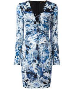 Roberto Cavalli | Приталенное Платье С Принтом