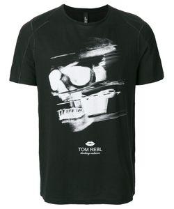 Tom Rebl   Skull Print T-Shirt Men