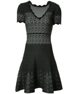 Yigal Azrouel | Расклешенное Платье С Эффектом Змеиной Кожи
