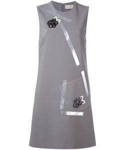Christopher Kane | Платье Из Крепдешина