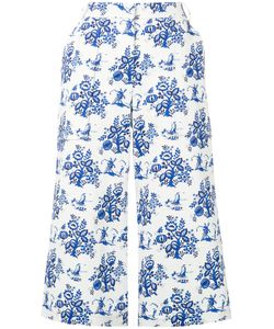 Victoria Beckham | Swing Culottes 27 Cotton/Spandex/Elastane