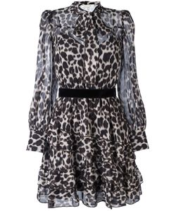 Marc Jacobs | Leopard Print Shirt Dress 6 Silk