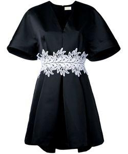 Sara Battaglia   Embroidered Belt Dress Size 42