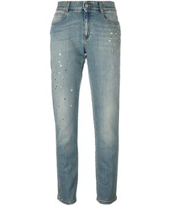 Stella Mccartney | Star Accent Straight-Fit Jeans