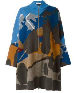 Stella Mccartney | Hooded Cape Design Coat